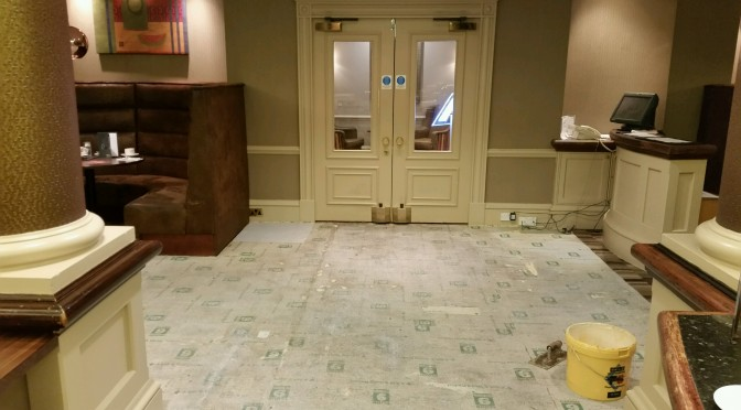 Case Study: Carpet Surgery for a Top Solihull Hotel